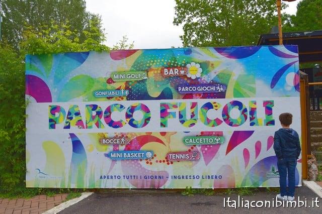 ingresso del parco Fucoli