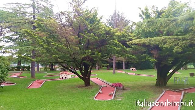 minigolf al parco Fucoli