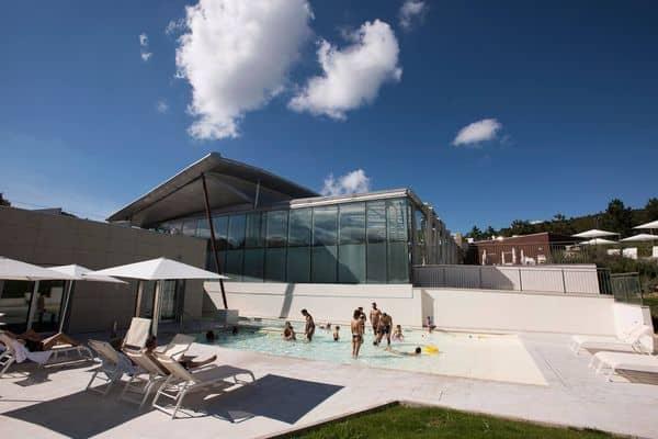 piscina esterna bimbi terme di Chianciano