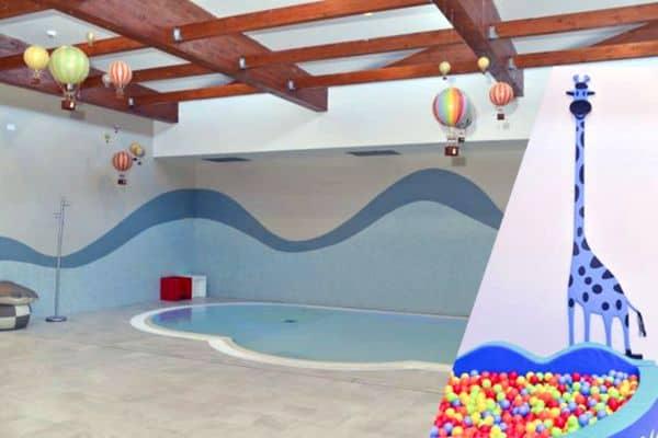 piscina termale bimbi Chianciano bambini inter