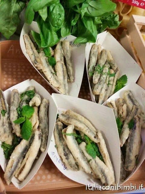 Le alici in scapece del ristorante Il Palmizio