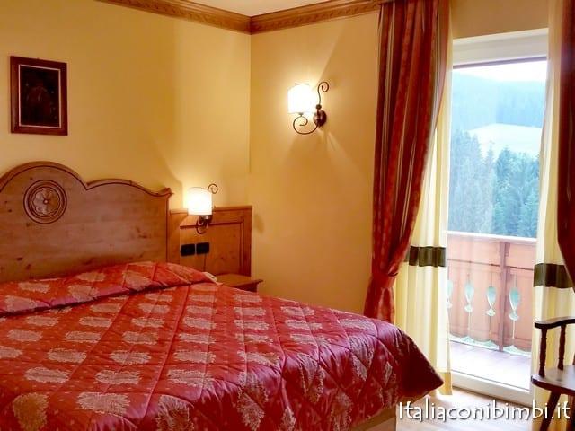 camera dell'hotel Da Barba di Asiago