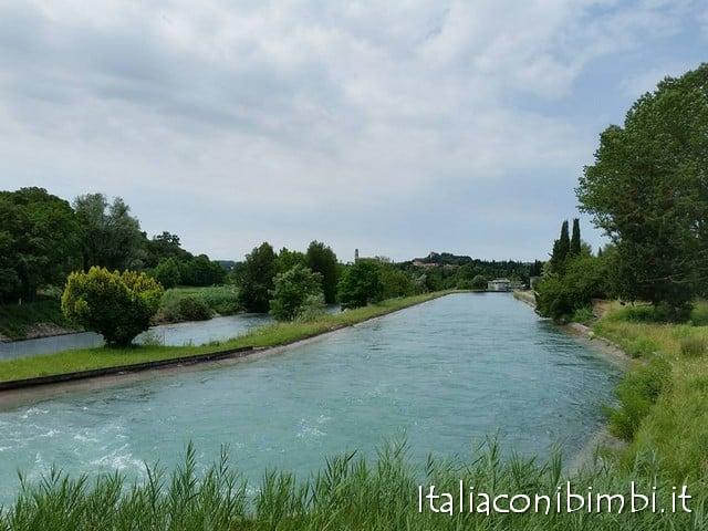 ciclabile fiume Mincio