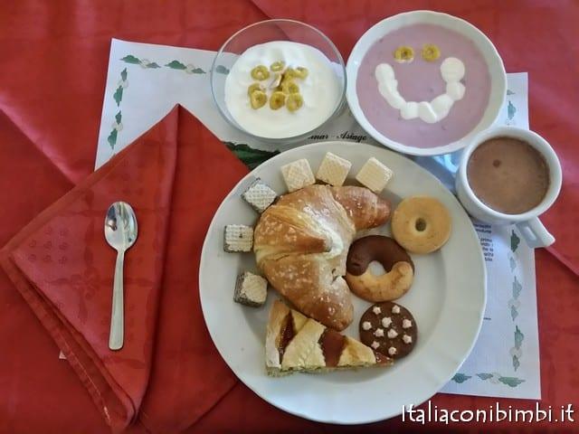 colazione hotel da Barba Asiago