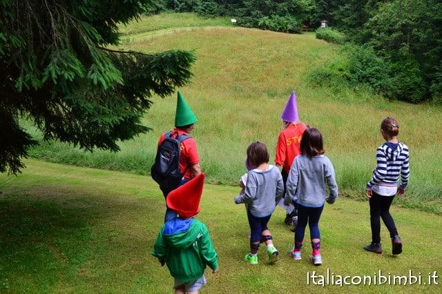 visita guidata al villaggio degli gnomi