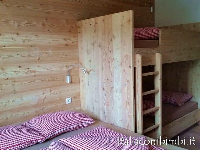 Camera rifugio Sasso Piatto