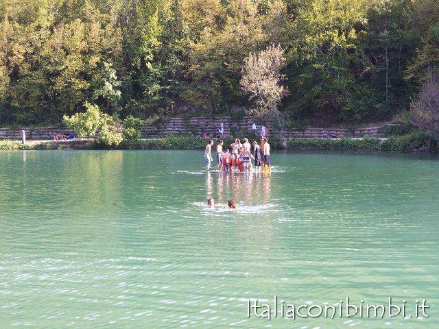 Lago di Sinizzo ragazzi