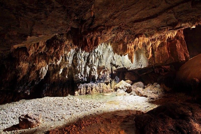 Grotte di Stiffe interni