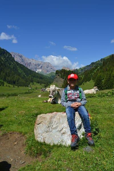 Val di Fassa con bambini - Rifugio Micheluzzi
