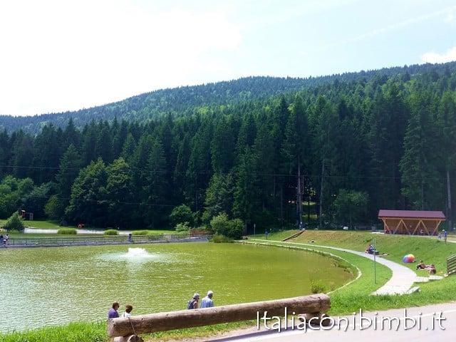 Lago di Roana altopiano di Asiago