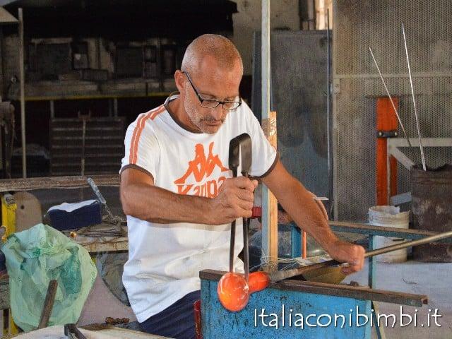Lavorazione del vetro di Murano