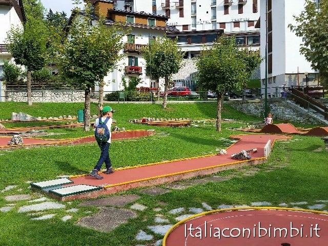 Minigolf Cortina d'Ampezzo