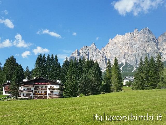 Panorama da Cortina D'Ampezzo