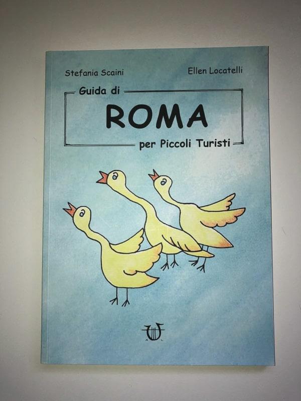 Guide per piccoli turisti - copertina della guida su Roma
