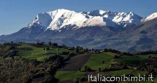 Monte Vettore nei dintorni di Ascoli Piceno