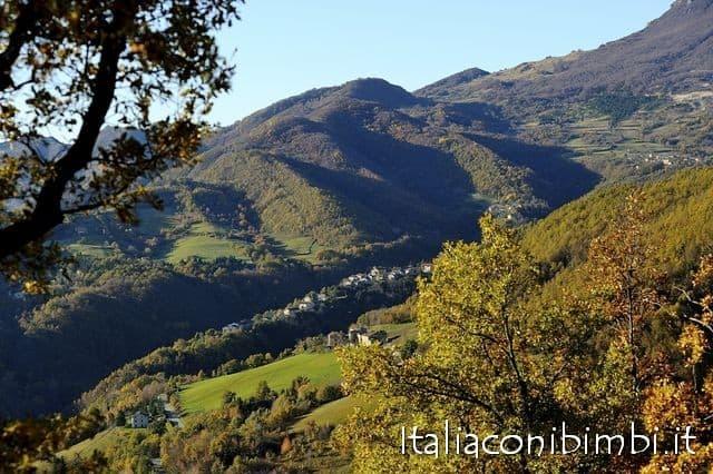 Montegallo vicino ad Ascoli Piceno
