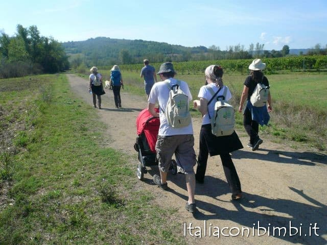 Via Amerina pellegrini in cammino