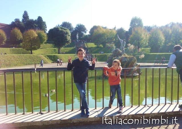 weekend a Firenze con bambini: giardino di Boboli