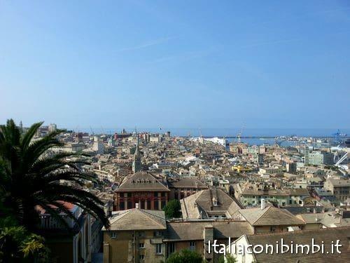 Genova dalla salita del Castelletto