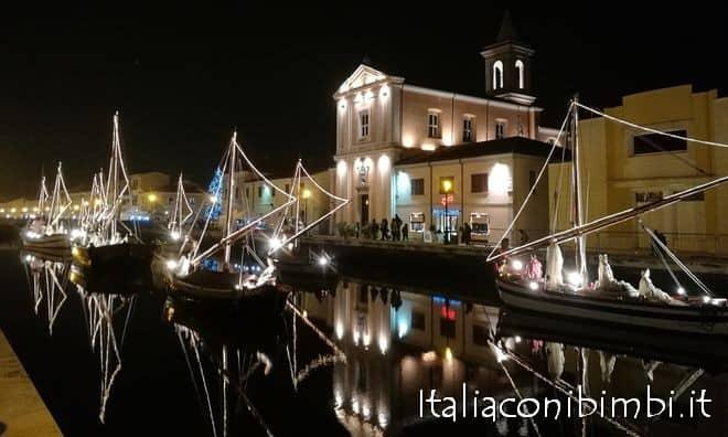 Il Presepe sull'acqua di Cesenatico e il Museo della Marineria - Italia con i bimbi