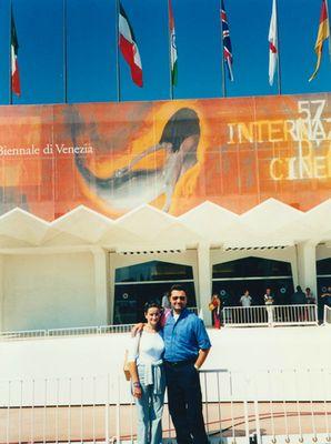 Noi al festival del Cinema di Venezia