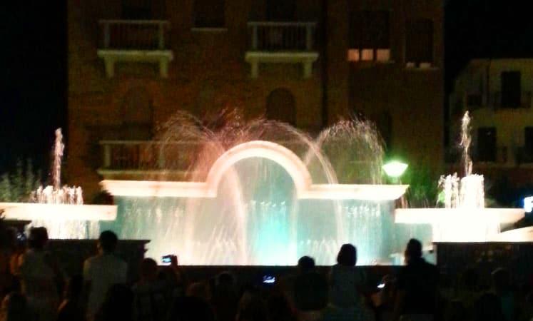 fontante danzanti a Cattolica
