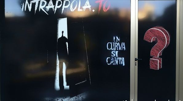 La porta dell'Escape Room di San Benedetto del Tronto