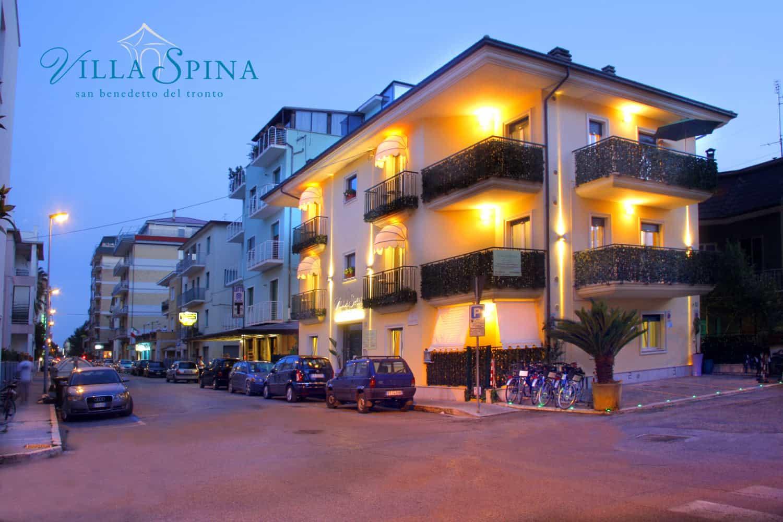 Esterno della casa vacanze Villa Spina a San Benedetto del