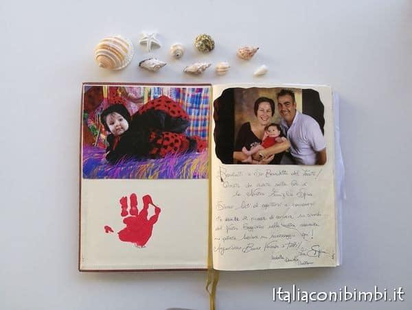 Libro degli ospiti della casa vacanze Villa Spina