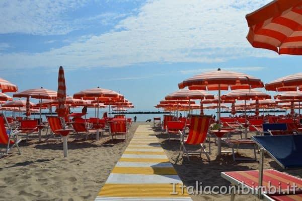 Villa Spina spiaggia