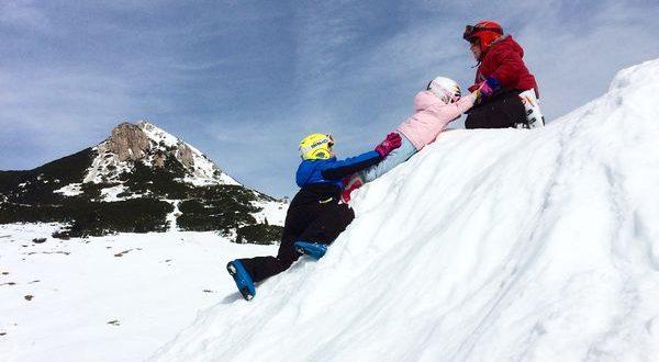 Bambini sulla neve - Foto di Ascoltami con gli occhi