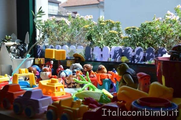giochi Villa Spina Residence a San Benedetto del Tronto