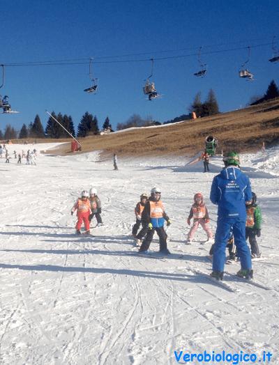 lezsioni di sci ad Andalo