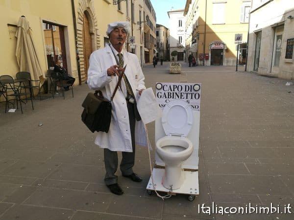 Scenetta del Carnevale di Ascoli Piceno