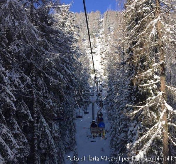 Seggiovia di Col Drusciè a Cortina D'Ampezzo