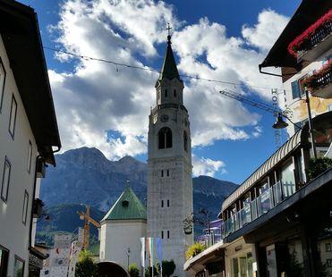 Cortina D'Ampezzo corso Italia