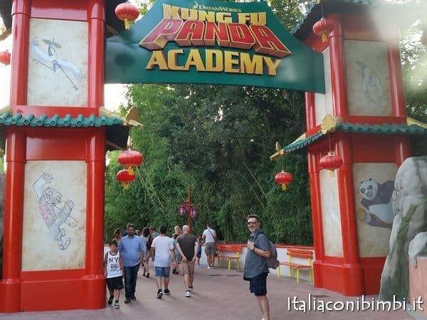 Gardaland ingresso alla Kung Fu Panda Academy