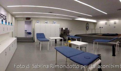 Juventus Stadium spogliatoi