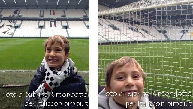 Juventus Stadium tour bambino