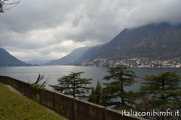 Lago di Como da Villa Lario