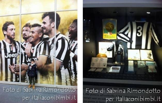 Museo della Juventus interni