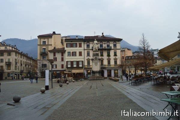 Piazza Volta a Como