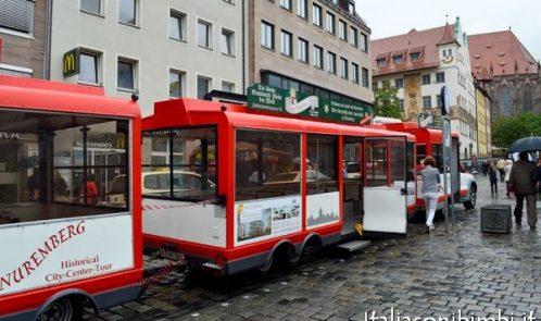 giro della città di Norimberga in mini treno