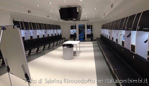 spogliatoi Juventus