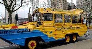 Bus anfibio del Duck Tour di Londra