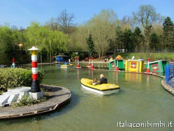 Coastguard HQ nella zona LegoCity a Legoland Windsor
