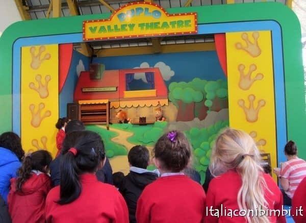 Duplo Theatre a Legoland Windsor