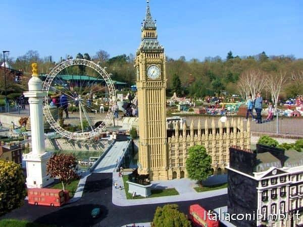 Londra al miniland del Legoland Windsor