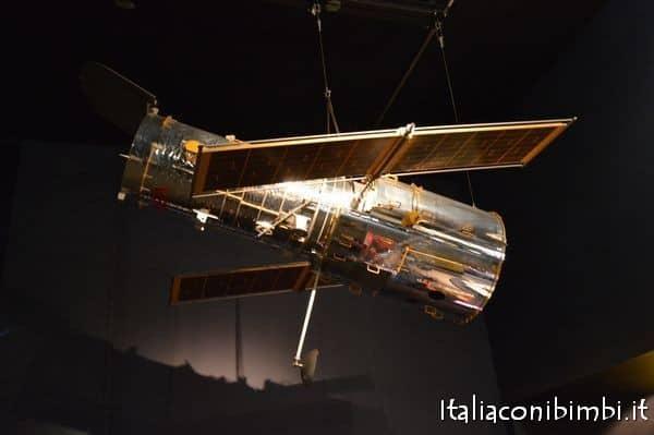 Navicella spaziale al Museo della Scienza di Londra