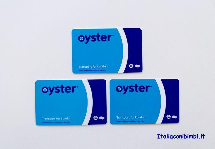 Oyester Card per spostarsi a Londra